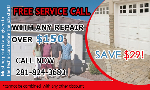 Garage Door Repair Atascocita Coupon - Download Now!